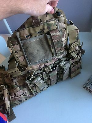Molle Chest Rig with Mag Pouches Paint Ball, Airsoft, Military, Army, Security