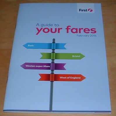 First Buses Bristol And West Of England Bus Fares And Zone Maps Guide