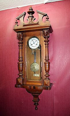 Antique-Wall-Clock- Vienna Regulator 19th century *125 cm height *FMS*