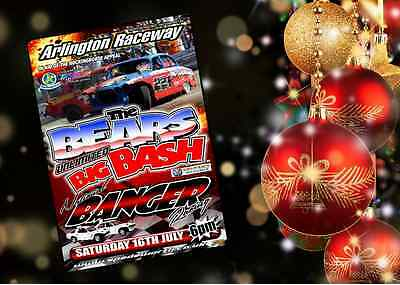 The Bears Big Bash 2016 DVD Banger Racing. Signed by Nutty Nige & Ash