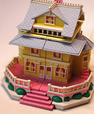 ★★★VINTAGE !!! 1995 POLLY POCKET maison victorienne ★★★