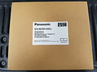 Brand New Panasonic KX-NCS8100 IP Softphone Software License