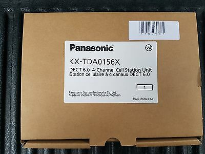 Brand New Panasonic KX-TDA0156 DECT 6.0 4-Channel Cell Station Unit