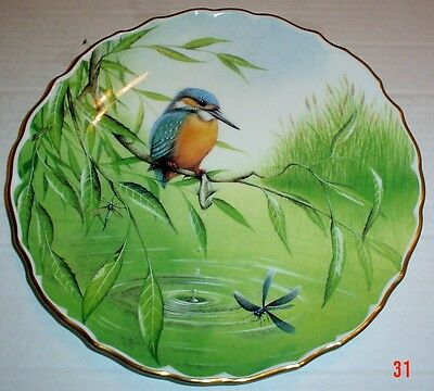 Spode Collectors Plate KINGFISHER - BRITISH BIRDS PLATE 1