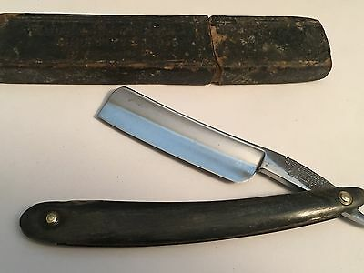 """Very Old 13/16"""" SP Wade & Butcher Razor Shave Ready Made In Sheffield Eng."""