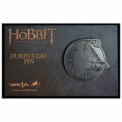 Official The Hobbit Durin's Day pin / badge WETA Collectibles