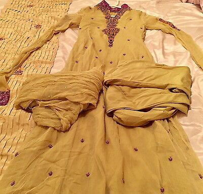 Pakistani Dress, Formal, Size Small