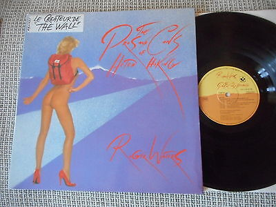 ROGER WATERS The Pros And Cons Of Hitch Hiking FRENCH LP 1984 MINT-