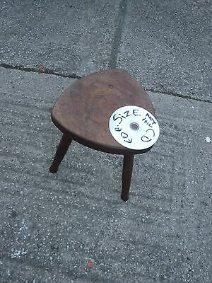 3  Legged  Hand  Made  Wooden   Stool.
