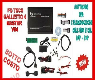 Fgtech Galletto 4 Master V54 FG Tech V54  BDM-TriCore OBD ECU Chip Tuning Tool
