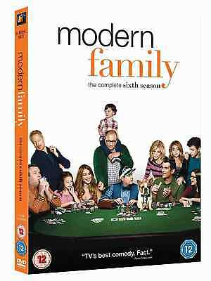 Modern Family Complete Season 6 New and sealed DVD Box set Region-2 UK