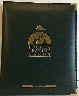 Jockey Guild Trading Cards Limited Edition Binder 220 50th Anniversary Golden
