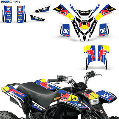 Yamaha Blaster 200 Decal Graphic Quad ATV Wrap Full Race Kit w/ Fenders 88-05 RB