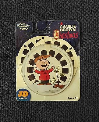 A Charlie Brown Christmas -  View-Master 3 Reels - Factory Sealed Package