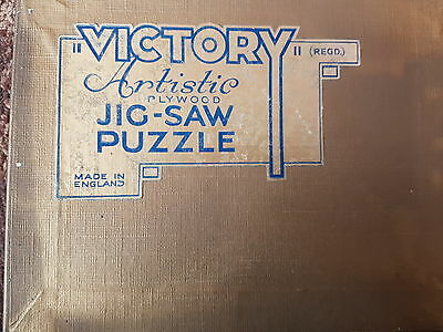 Vintage victory 200 piece artistic gold box jigsaw titled The Pirates