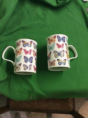 Laura Ashley Mugs With Butterflies