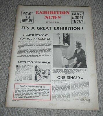 1965 Exhibition News at Olympia