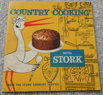 Stork Country Cooking Booklet