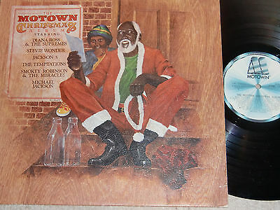 The Motown Christmas Album. Stml 12037 (Hard To Find Lp).