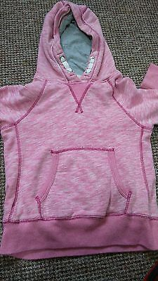 Girls 'Next' Pink Hoody/ Sweat Jumper Size 8 Years