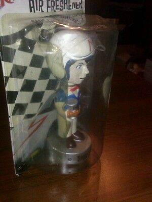 Speed racer air freshener bobblehead