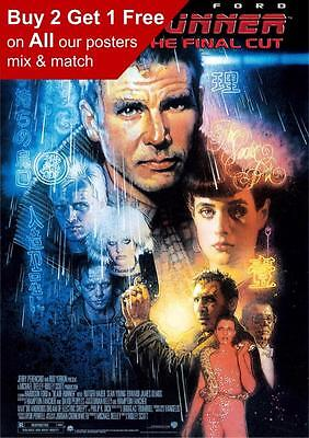 Blade Runner The Final Cut Movie Poster A5 A4 A3 A2 A1