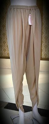 Tulip Silk Trousers Pakistani Black, Purple , White and Beige Fashion Indian • EUR 16,40