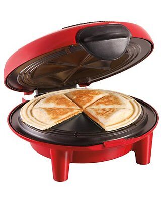 """Quesadilla Maker Mexican Electric 6"""" Tortillas Nonstick Surface Locking Lid Cook"""