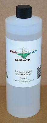 Tex Lab Supply Propylene Glycol (PG) NF-FCC/EP-USP 500 mL