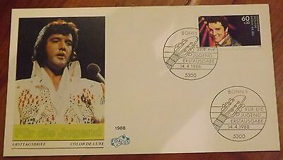 Elvis Presley First Day Cover issued in Germany in 1988