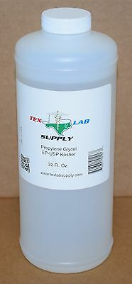 Tex Lab Supply Propylene Glycol (PG) NF-FCC/EP-USP 33.8 Fl. Oz.