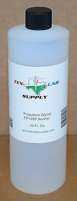Tex Lab Supply Propylene Glycol (PG) NF-FCC/EP-USP 16 Fl. Oz.