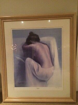 Domingo limited edition framed print 'Hidden Thoughts' signed & with certificate