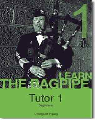 Learn the Bagpipes with Tutor Book, CD and Practice Chanter