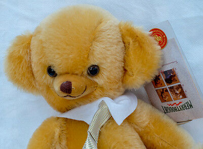 Merrythought Yes No Golden Cheeky Bear 12 inches T12YNV L/Ed