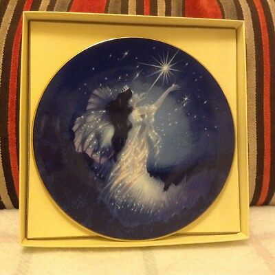 The Diamond Fairy collectable plate, Compton & Woodhouse LTD 1990