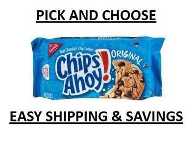 New Nabisco CHIPS AHOY COOKIES PICK N CHOOSE WITH FREE WORLDWIDE SHIPPING