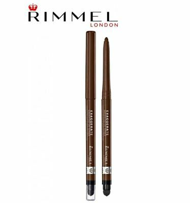 Rimmel Exaggerate Waterproof Full Colour Eye Liner With Smudger - 211 Sable