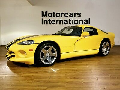 2001 Dodge Viper GTS  2001 Dodge Viper GTS, 1-Owner with an incredibly low 1,632 miles!!!!!