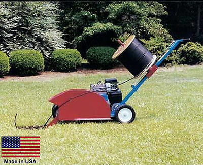 TRENCHER & WIRE CABLE INSTALLER - Commercial - Trenches & Fills - 5.5 Hp Honda