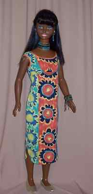 Bright Jersey Knit Dress for My Size Barbie