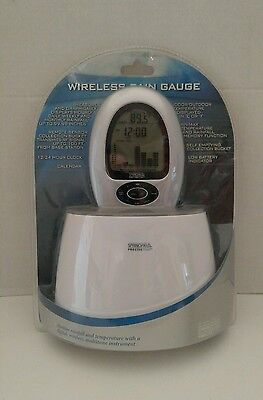 Springfield Wireless Digital Rain Gauge 91505-1 Precise Temp
