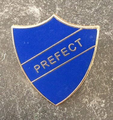SCHOOL PREFECT ENAMEL PIN BADGES - 5 COLOURS AVAILABLE - BUY 4 GET A 5th FREE
