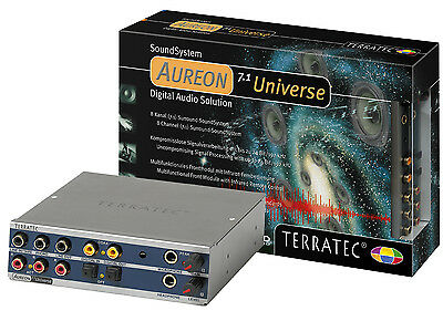 Terratec Aureon 7.1 Universe NEW and Boxed with wavetable connector