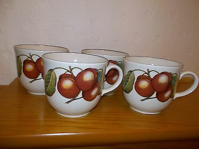 Staffordshire Tableware fruit 4 CUPS