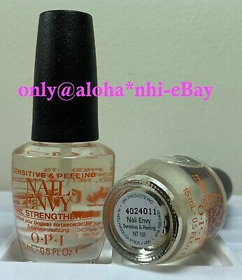 OPI Treatment - NAIL ENVY SENSITIVE & PEELING 1/2 oz = 15 ml BRAND NEW