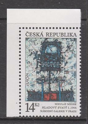 CZECH REP. - 1993.  Europa - Contemporary Art - 14k. MNH