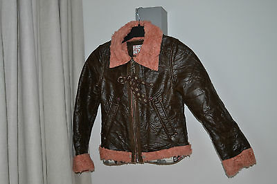 MISS SIXTY GIRLS JACKET AGE 6 - 8 YEARS Rarely worn
