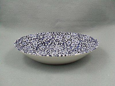Queen's Victorian Calico Blue Bowl