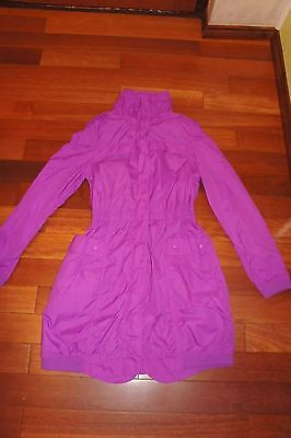 TED BAKER - GIRLS DESIGNER JACKET purple  pink- SIZE AGE 15